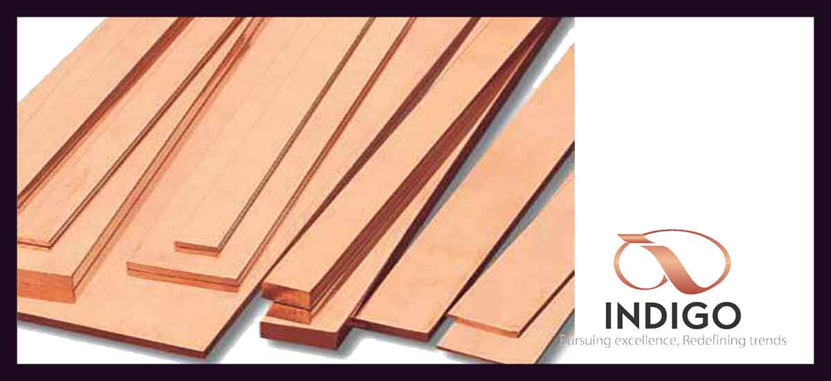 Copper Busbars Strips Sheets Amp Flats Copper Products