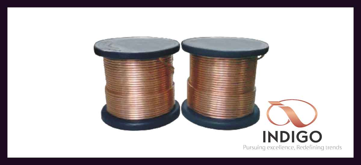 Copper capillary tubing products indigo